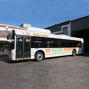 Golden Arrow Electric Bus